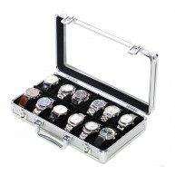 Aluminium watch case for 12