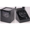 Watch Winder (1 winder 2 watches) Black-Carbon Fiber