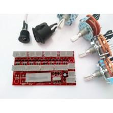 Leiterplatte für Uhrenbeweger -für 8 Motore, 4 Schalter