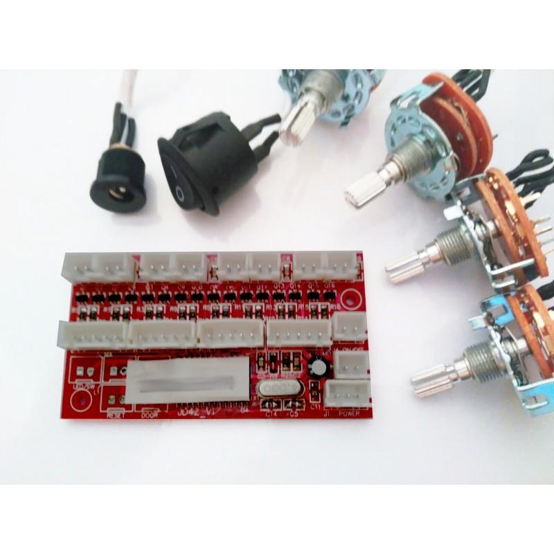 Circuito watch winder para 8 motores 4 selectores