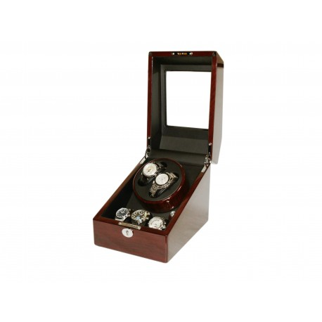 Watch Winder (1 winder 2 watches) Golden-Oak
