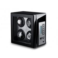 Remontoir montres 4 Noir Carbon Fiber LCD