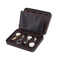 Zipper case for 8 Watches CF