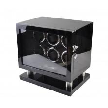 Watch Winder Lux 6 relojes. Black
