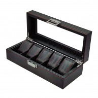 Carbon fiber watch case for 6 Red line