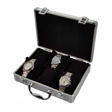 Aluminium watch case for 6