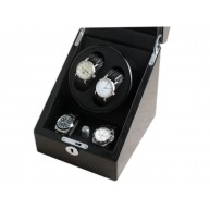 Watch Winder (1 motorini 2 orologi) Black-Black
