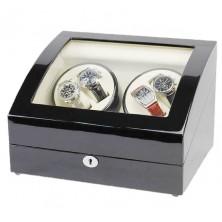 Uhrenbeweger 4+5 Watch Winder Black-Cream