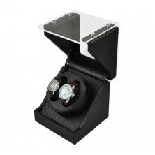 Remontoir pour montres (1 moteur 2 montres) GLASS-black