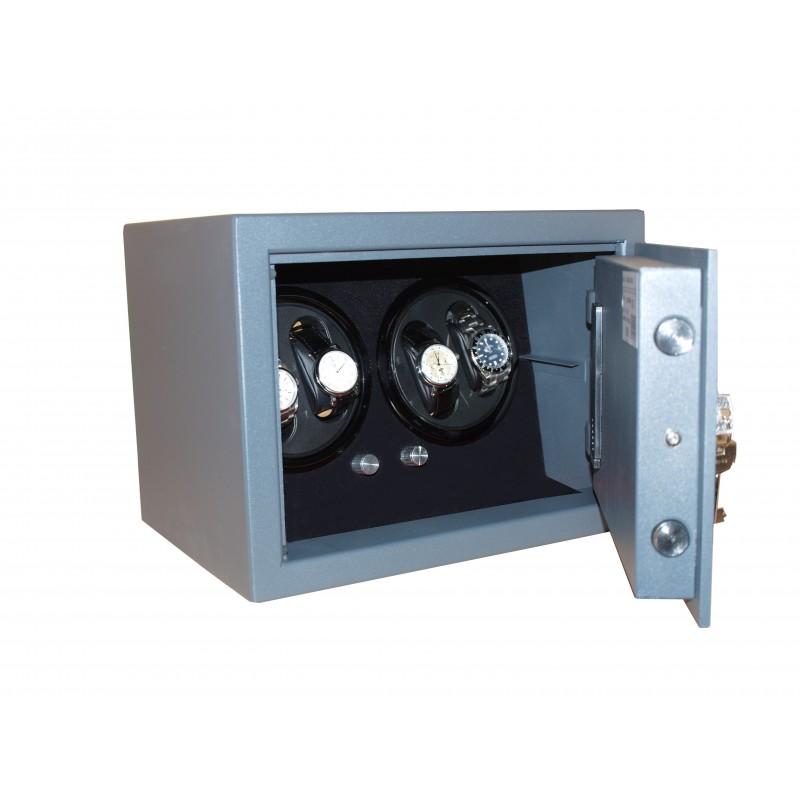 Save box Watch Winder 4 Black LED