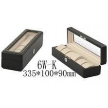 Uhrenbox für 6 Armbanduhren Kohlefaser