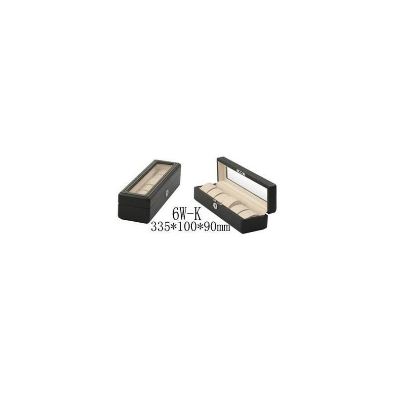 Uhrenbox fur 6 Carbon fiber