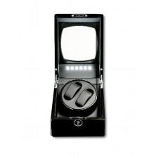 Watch Winder carica 2 orologi (1 motorini) Black LED