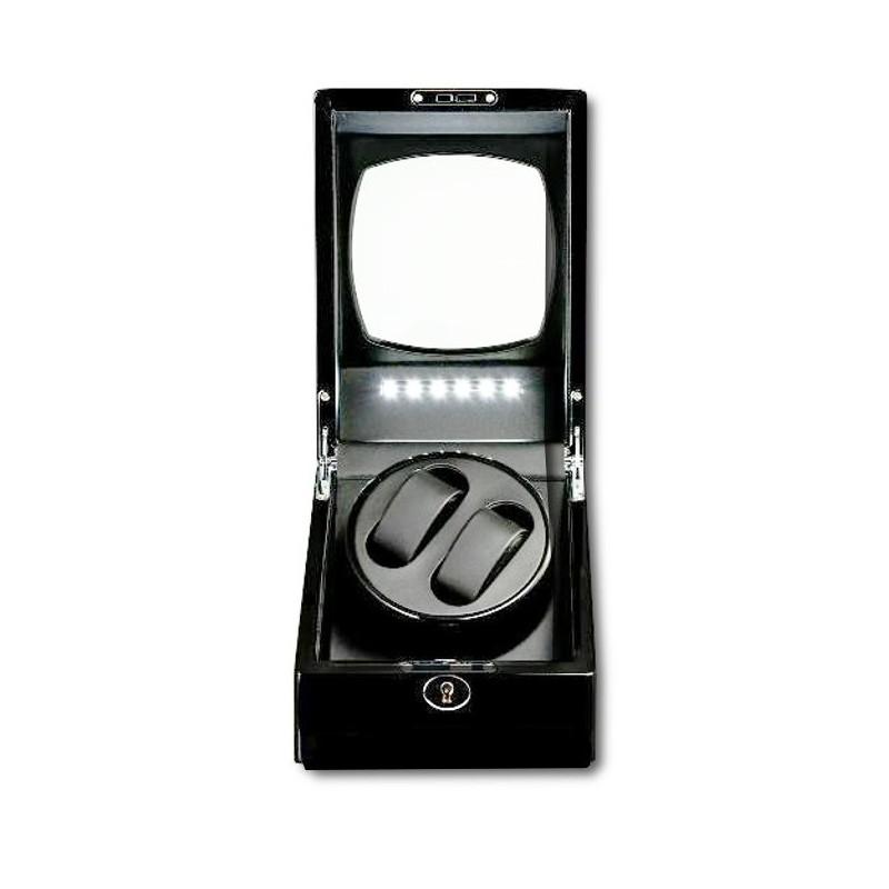 Watch Winder (1 motor 2 relojes) Black LED