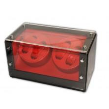 Watch Winder (2 motorini 4 orologi) Black-Red