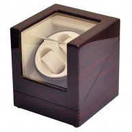 Watch Winder (1 motor 2 relojes) Ebony-Cream